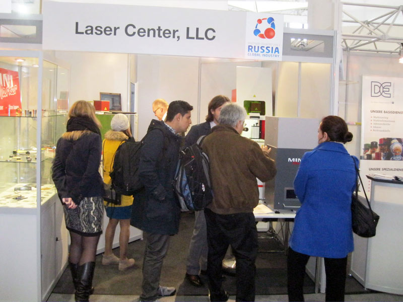 During Hannover Industrial Exhibition Russia was presented not only by the companies of national patrimonyn - GASPROM and ROSNEFT, but also by high-tech companies, such as Laser Center