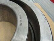 laser marking of the bearings